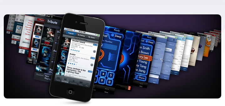 iPhone App Interface Design